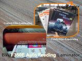 A3 A2 Größen-Automobil-führendes Doppeltes versah heiß mit Seiten und walzt Beutel-Film 2 in 1 Maschinen-Lamellieren kalt