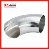 Lle curvature sanitarie da 90 gradi dell'acciaio inossidabile SS304