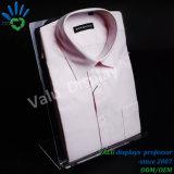 En acrylique transparent personnalisé Rack Présentoir pour T Shirt Magasin de vêtements Vêtements