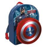 Novo Jornal Marvel meninos / Kids Backpack / Mochila / Saco Escolar