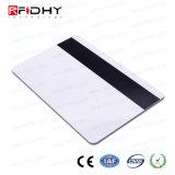 RFID para imprimir la tarjeta de doble frecuencia con las tiras magnéticas