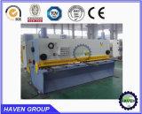 Corte hidráulico da guilhotina e máquina de estaca da folha da placa de metal