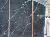壁のためのNeroかMarquinaの黒い大理石のタイルまたは平板またはフロアーリングまたはカウンタートップまたは階段か台所またはBathrrom