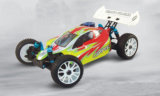 RC Nitro Car 1 / 8th Scale 4WD Gas powered High Speed RC Hobby off Road Truggy