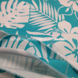 напечатанная 75dx300d ткань кожи персика Microfiber полиэфира для краткостей пляжа