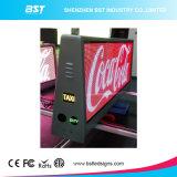 3G/4G/WiFi広告のための無線二重側面P5のフルカラーのタクシーの上のLED表示