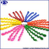 Spiraalvormige Ballon van de Kleuren van de Verkoop van China de In het groot Hete Multi