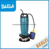 Gebrauch-versenkbare Wasser-Pumpe des Garten-Qdx15-10-0.75