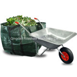 Jardim Home do Wheelbarrow do disconto resistente, galvanizado
