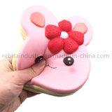 Gâteau de pain de lapin mignon Squishy ralentir la hausse du jouet de poignet à main
