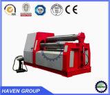 W12S-12X2500 4 rolos de chapa de aço dobrando e máquina de laminação