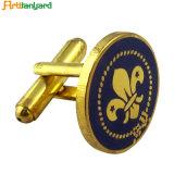 Cadeau d'artisanat métal promotionnels personnalisés Cufflink