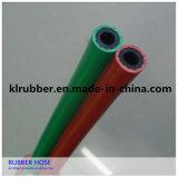 Mangueira de borracha da cor flexível para o ar e o gás