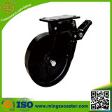 125mm Roheisen-Rad, Qualitäts-Rad-Fußrolle