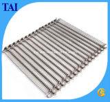 Chaîne de bande de conveyeur de treillis métallique d'acier inoxydable