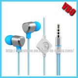 2014 alumínio metálico inovadoras mais quentes do fone de ouvido com microfone