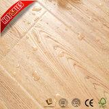 Efeito de madeira de teca piso laminado cor natural para Home