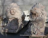 En venta León escultura de mármol de gran calidad