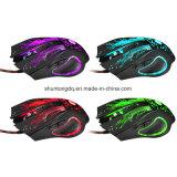 Spiel PROGamer Computer-Mäuse der Förderung-3200dpi LED optische USB verdrahtete des Spiel-6D der Maus6buttons für PC Laptop-Qualität