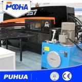 Hydraulischer CNC-Drehkopf-lochendes Gerät für das Stahlplatten-Loch-Lochen