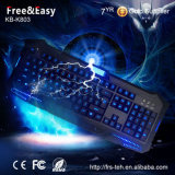 Hot Sell LED rétro-éclairé Customzied OEM Gaming Keyboard