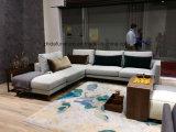 Sala de estar L Shape Sofá sofá de tecido ms1501/sofá Transversal