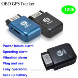 2g GPS van de Auto van het netwerk OBD Drijver zonder Installatie T206