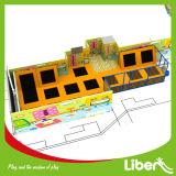 Trampoline interno personalizado fábrica das crianças de China para a alameda