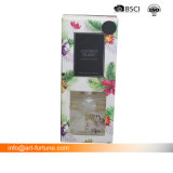 훈장을%s 가진 유리제 유포자 및 축제와 홈 새롭게 하기를 위한 칼라 박스에 있는 꽃