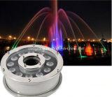 свет наивысшей мощности СИД света фонтана 9W Epistar Die-Casting алюминиевый СИД подводный