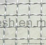 غلفن شبكة مربّعة [كريمبد] يحاك [وير مش]