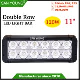 Double rangée de 120W 11pouces CREE LED Light Bar Offroad barre LED