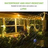 De zonne Waterdichte van het LEIDENE van de Lichten 33FT 10m 100 van Kerstmis Lichten ZonneKoord van de Fee voor de OpenluchtPartij van Kerstmis