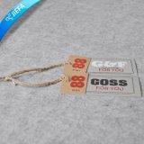Пользовательская цена Tag/джинсы повесить теги индексов для джинсы