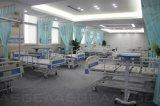 테이블 단화 선반 수동 의학 침대 (AG-BYS105)에 교차하는 브레이크