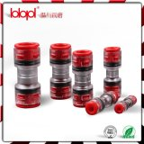 직접 Install Coupler 16/13mm Red Transparent