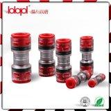 Direct installeer Koppeling 16/13mm Rode Transparant