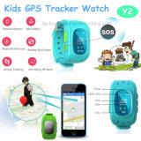 Heiße verkaufenOLED Bildschirm-Kinder GPS-Uhr Y2