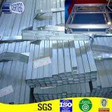 Q235 de acero suave de alta resistencia galvanizado tubo cuadrado para arena