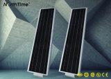 6W-120W todo en una luz de calle solar con el sensor de movimiento