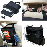 Multifuncional Nylon Travel Storage Car Back Seat Organizer Bag