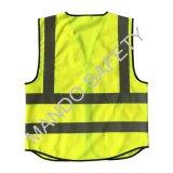 3m desgaste de trabalho de alta visibilidade segurança reflexivo Vest bolsos