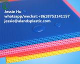 4mm Blanc du Coroplast des feuilles de plastique ondulé de l'impression