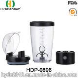 pó da proteína da bateria 450ml, frasco do abanador da bateria (HDP-0896)