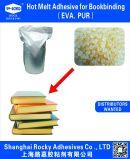 EVA. Adesivo da colagem de Pur Hotmelt para o emperramento de livro