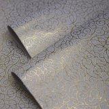 0.5 mm nichtgewebtes stempelndes PU-Leder für verpackendekoration