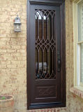 Moderne Metalbeste Qualitätsmoderne einzelne bearbeitetes Eisen-Tür