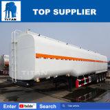 3車軸が付いているタイタンの液体燃料の料理油の半トレーラーのタンカー