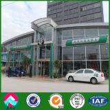 Exposition hall légère de véhicule de l'acier 4s avec la qualité