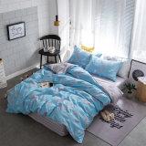 Luxuxdruck-einfacher Entwurfs-Bettwäsche-gesetzter Steppdecke-Deckel